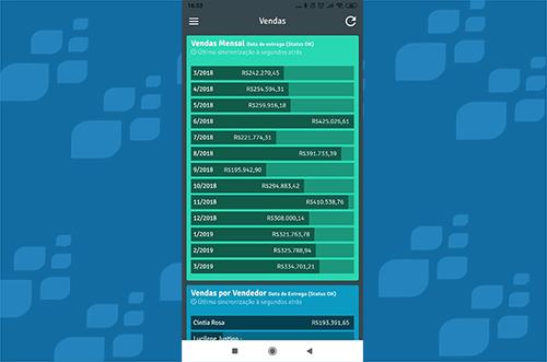 App GestãoPro Vendas Relatórios