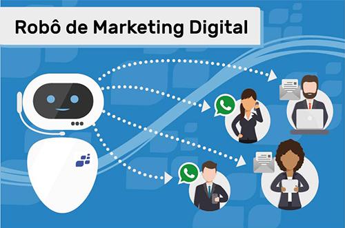 Robô de Marketing Digital